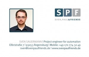 Visitenkarte Sven Sauermann SPF